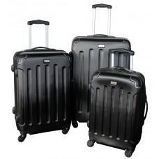 Linder Exclusiv LUXURY MC3003 Cestovné kufre S,M,L - čierne Preview