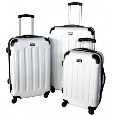 Linder Exclusiv LUXURY MC3053 Cestovné kufre S,M,L - biele Preview