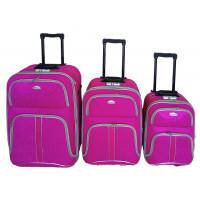 Linder Exclusiv COMFORT COLORS cestovné kufre MC3049 S,M,L - Pink