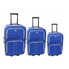 Linder Exclusiv COMFORT COLORS cestovné kufre MC3063 S,M,L - Modrý Preview