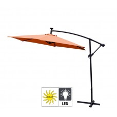 AGA záhradný konzolový slnečník EXCLUSIV LED 300 cm Orange Preview