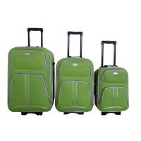 Linder Exclusiv COMFORT COLORS cestovné kufre MC3049 S,M,L - Zelený