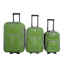 Linder Exclusiv COMFORT COLORS cestovné kufre MC3049 S,M,L - Zelený Preview