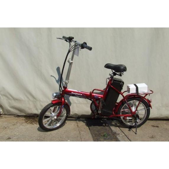 "Elektrický skladací kempingový bicykel Lofty-1 CAMP 16"" 36V 9A"