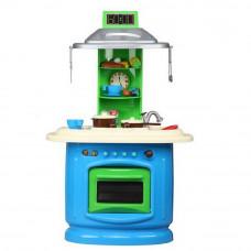 Detská kuchyňa obojstranná Inlea4Fun DOUBLE - modrá
