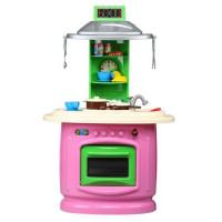 Detská kuchyňa obojstranná Inlea4Fun DOUBLE - ružová