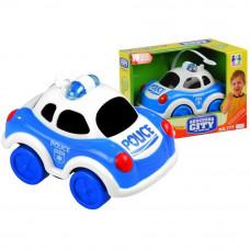 Inlea4Fun malé policajné auto so zvukovými a svetelnými efektmi Preview