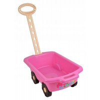 Inlea4Fun vozík Trolley ružový 45 cm
