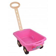 Inlea4Fun vozík Trolley ružový 45 cm Preview