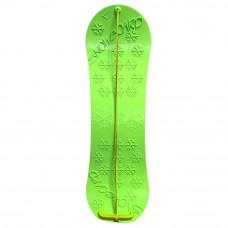 Inlea4Fun detský plastový snowboard zelený Preview
