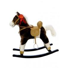 Hojdací koník Milly Mally Mustang tmavo hnedý Preview