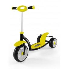 Detská kolobežka Milly Mally Crazy Scooter yellow Preview