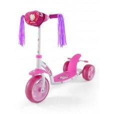 Detská kolobežka Milly Mally Crazy Scooter pink Kitty Preview