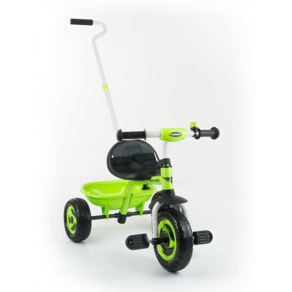 Detská trojkolka Milly Mally Boby TURBO green