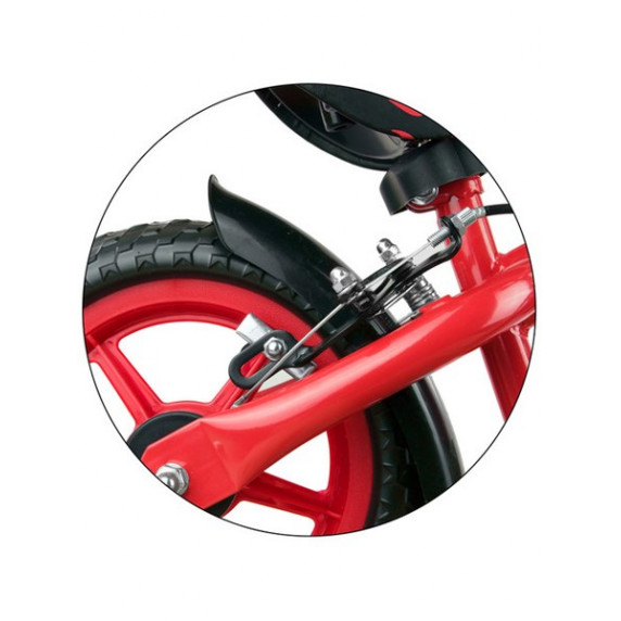"Detské cykloodrážadlo Milly Mally Dragon s brzdou 10"" - classic"