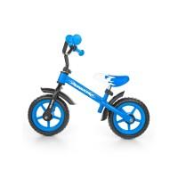"""Detské cykloodrážadlo Milly Mally Dragon 10"""" - modré"""