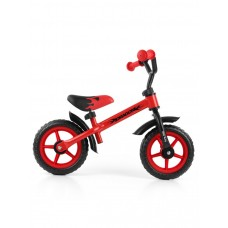 "Detské cykloodrážadlo Milly Mally Dragon 10"" - červené Preview"