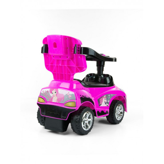 Detské vozítko 2v1 Milly Mally Happy pink