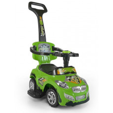 Detské vozítko 2v1 Milly Mally Happy - zelené Preview