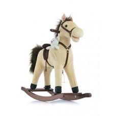Hojdací koník Milly Mally Mustang bežový Preview