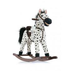 Hojdací koník Milly Mally Mustang bielo-čierny puntíkovaný Preview