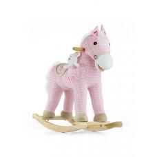 Hojdací koník Milly Mally Pony ružový Preview