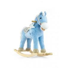 Hojdací koník Milly Mally Pony modrý Preview