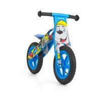 """Detské drevené cykloodrážadlo Milly Mally King Bob 12"""""""