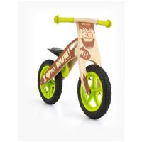 """Detské drevené cykloodrážadlo Milly Mally King Boy 12"""""""