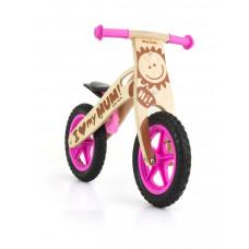"Detské drevené cykloodrážadlo Milly Mally King Girl 12"" Preview"
