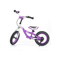 Detské odrážadlo bicykel Milly Mally Hero purple
