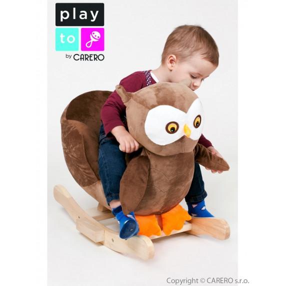 Hojdacia hračka PlayTo sovička