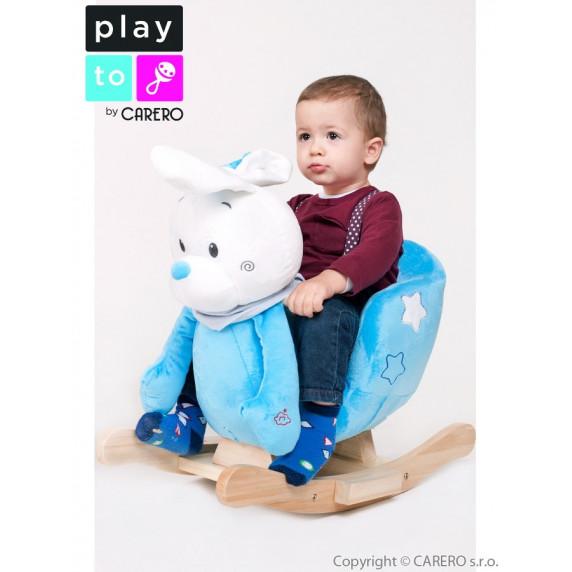 Hojdacia hračka PlayTo králiček modrá