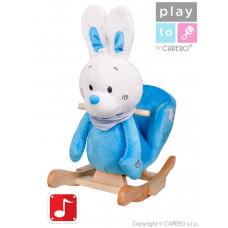 Hojdacia hračka PlayTo králiček modrá Preview