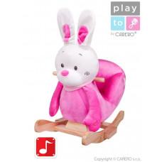 Hojdacia hračka PlayTo králiček ružová Preview
