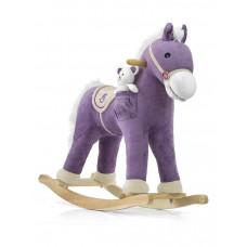 Hojdací koník Milly Mally Pony fialový Preview
