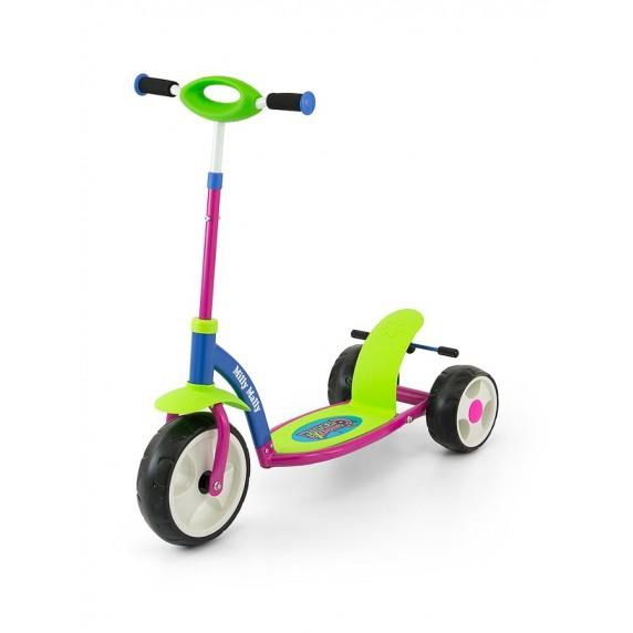 Detská kolobežka Milly Mally Crazy Scooter green