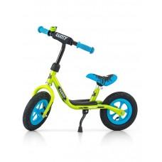 "Detské odrážadlo bicykel Milly Mally Dusty green 10"" Preview"
