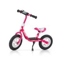 """Detské odrážadlo bicykel Milly Mally Dusty pink 10"""""""