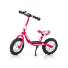"""Detské odrážadlo bicykel Milly Mally Dusty pink 10"""" Preview"""