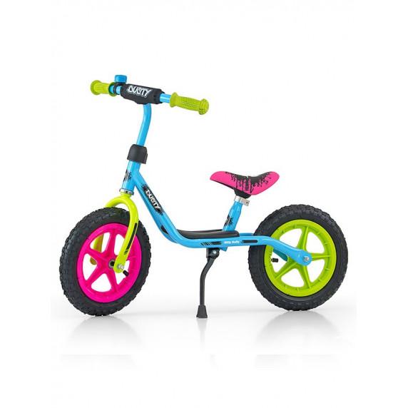 """Detské cykloodrážadlo Milly Mally Dusty 10"""" - multicolor"""