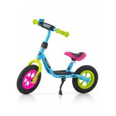 """Detské odrážadlo bicykel Milly Mally Dusty multicolor 10"""" Preview"""