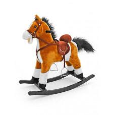 Hojdací koník Milly Mally Mustang svetlo hnedý Preview
