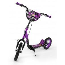 Detská kolobežka Milly Mally Scooter Extrema purple Preview
