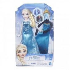 FROZEN bábika Elsa s náhradným oblečením Preview