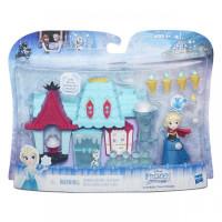 FROZEN hracia sada - malá bábika Elsa