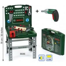 Klein Pracovný stôl v kufríku BOSCH + skrutkovač Preview