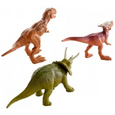 Mattel Jurský svet Mini Dino 3 ks - Triceratops, Sygimoloch, Mettalix T-Rex Preview