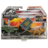 Matchbox Jurský svet dinokára - TRICERA TRACKER