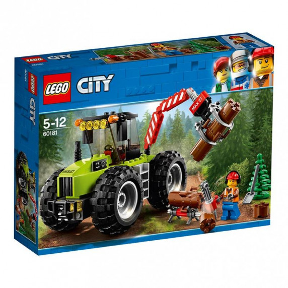 LEGO City - Traktor do lesa